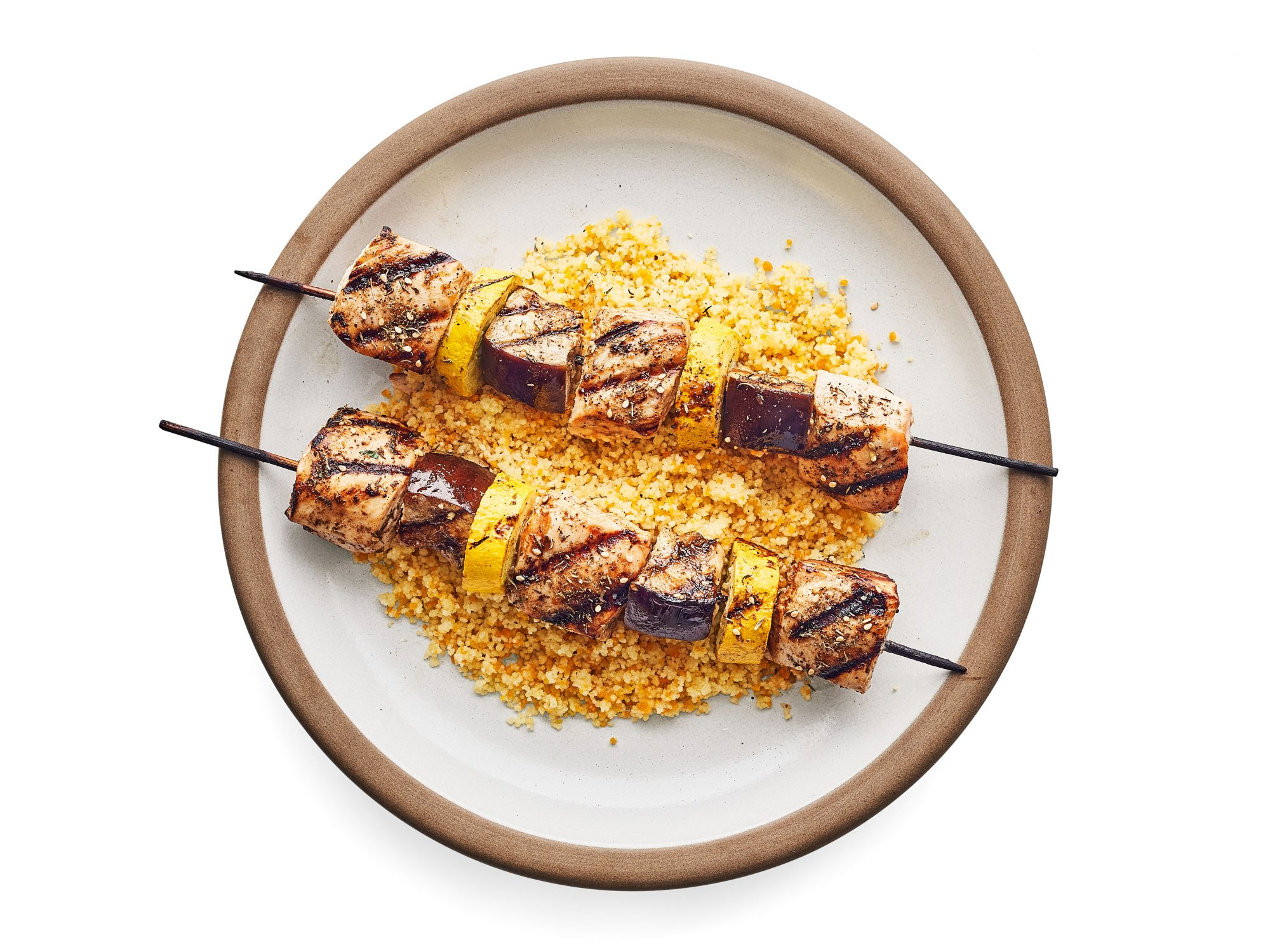 Za'atar Chicken Kebabs