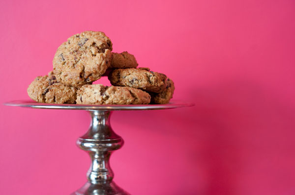 Chocolate Oatmeal Chili Cookies / Photo by Matt Pacetti