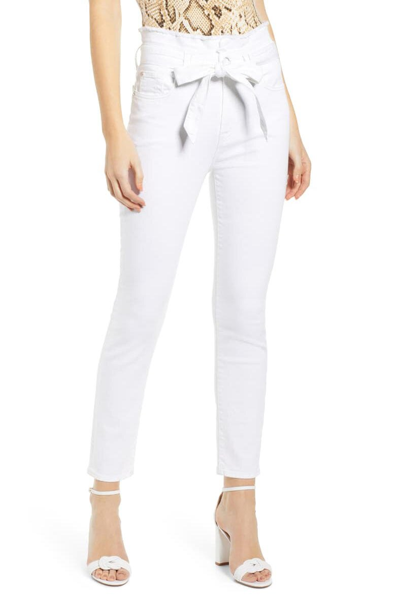 43b1b796ad4efd The Most Flattering White Jeans for Your Body Type