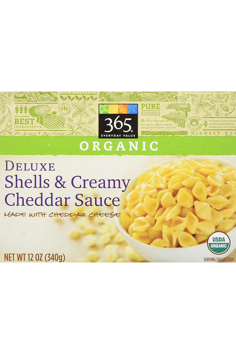 365 Everyday Value Organic Deluxe Shells  and Creamy Cheddar Sauce