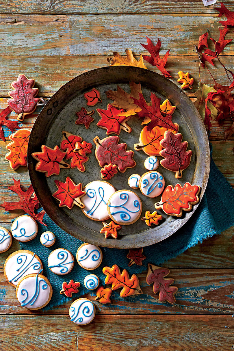 Pumpkin Pie Cutout Cookies Party Recipe