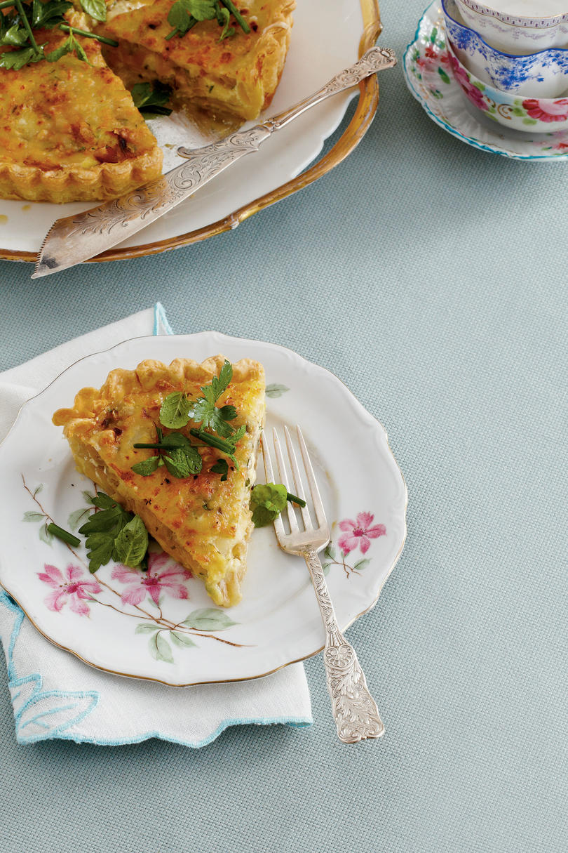 Caramelized Onion Quiche Recipe
