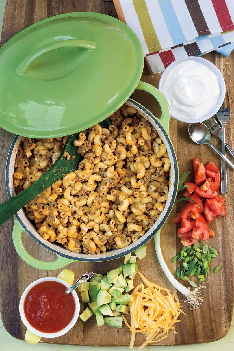 Taco Dinner Mac and Cheese
