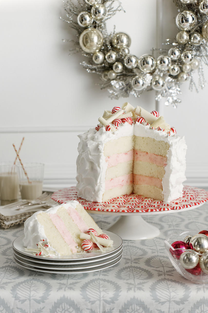 Layered Peppermint Cheesecake