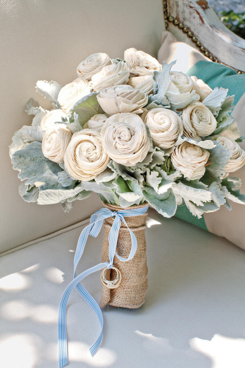 Balsa Wood Floral Bouquet
