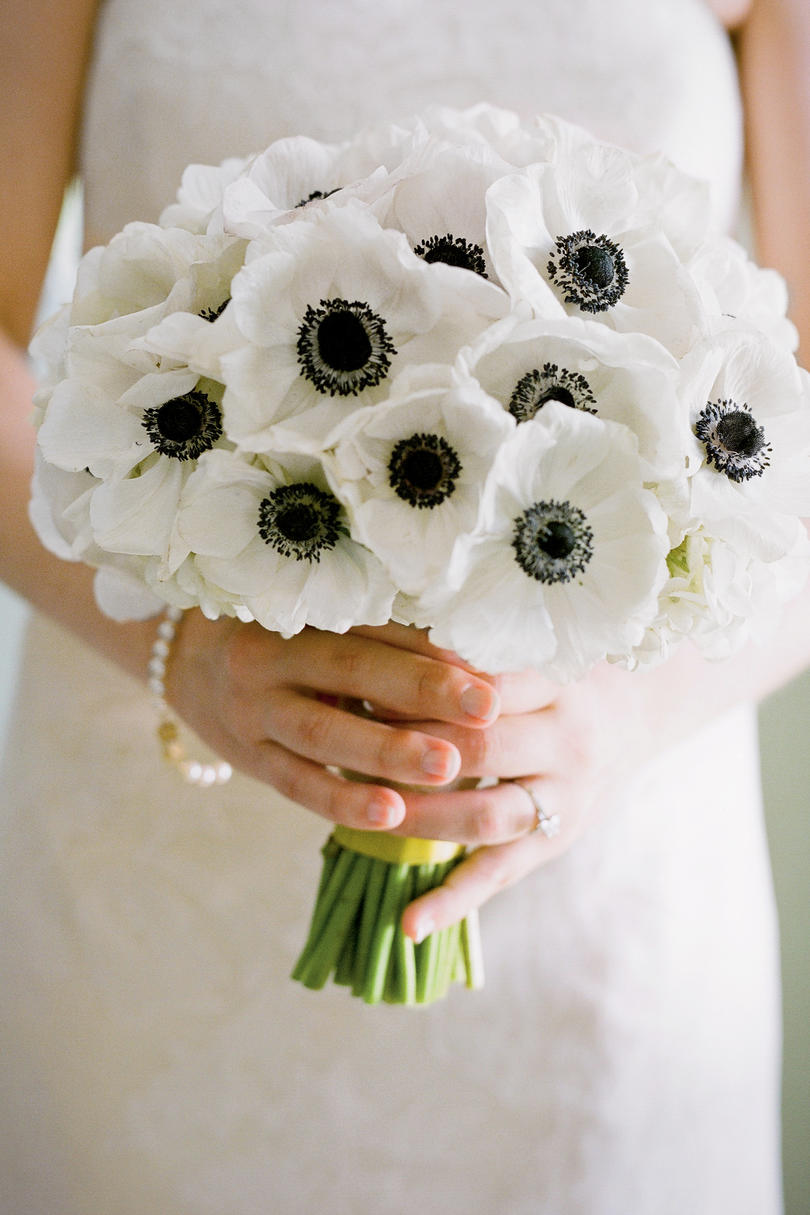 White Anemones Bouquet