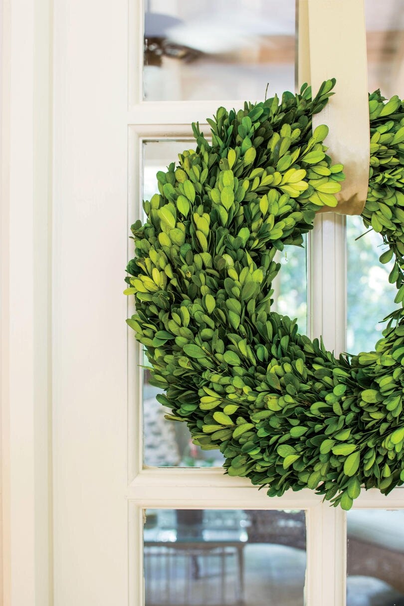 A beautiful Christmas wreath always brightens a gorgeous home and makes guests feel at home for the holidays. Here, our editors share their ideas ...