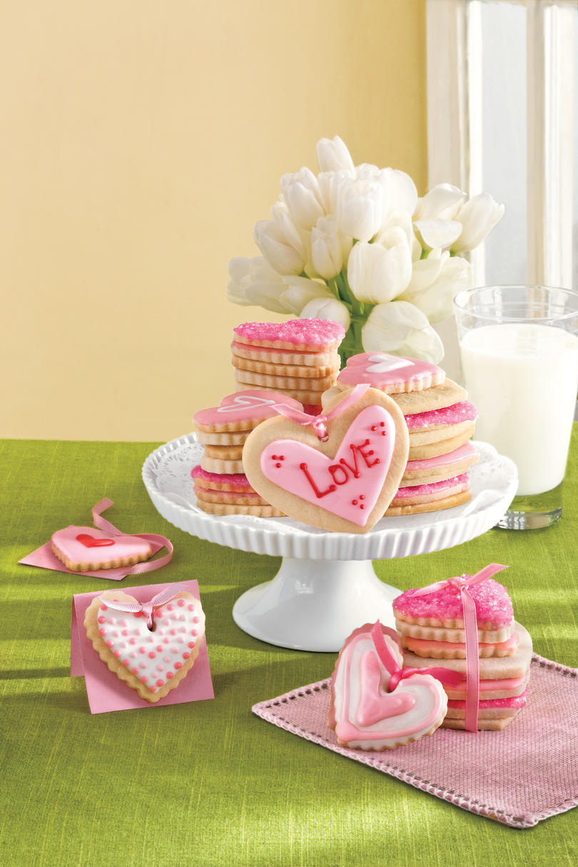 Sweet Valentine's Day Treats Cookie Valentines