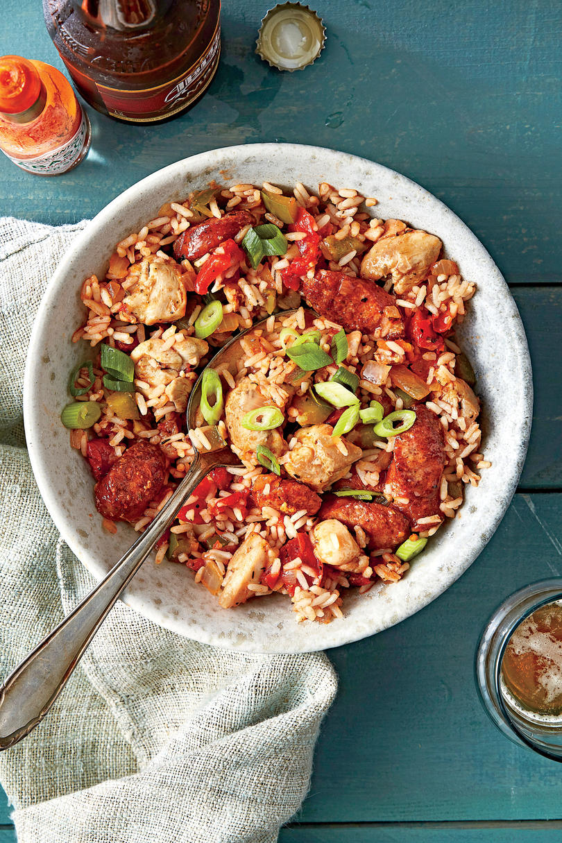 Simple Suppers Challenge: Chicken and Sausage Jambalaya