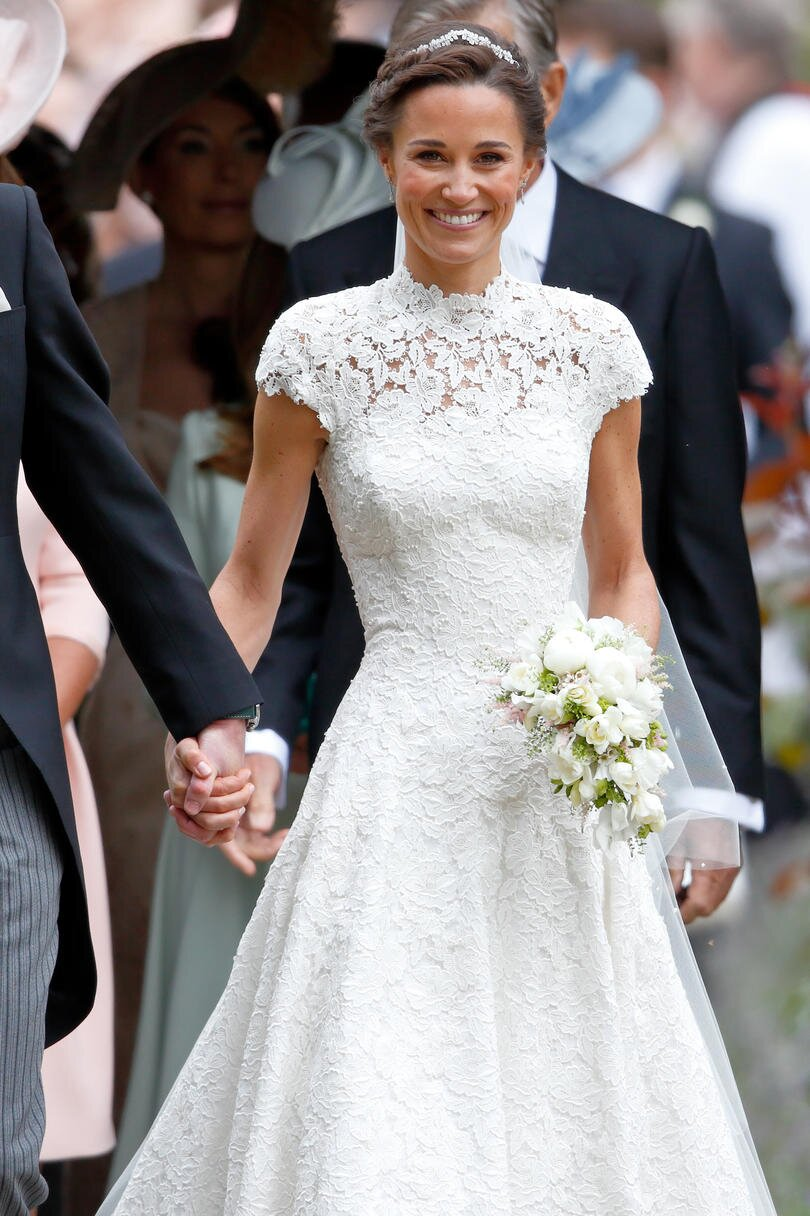 afc201d7ace RX 1706 Iconic Wedding Dresses Pippa Middleton