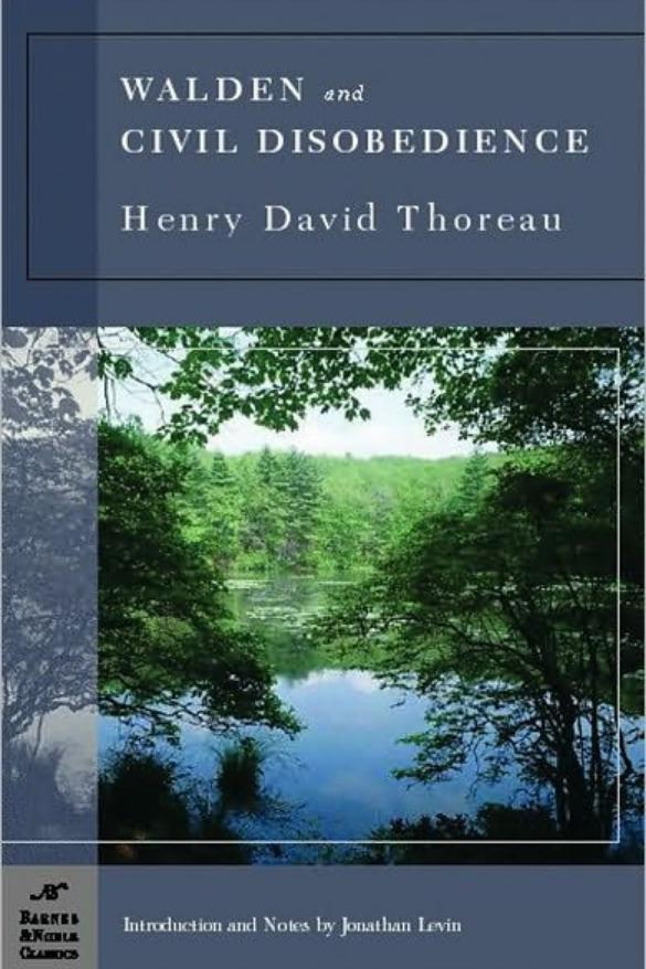 """RX_1707_Walden and """"Civil Disobedience"""" by Henry David Thoreau"""