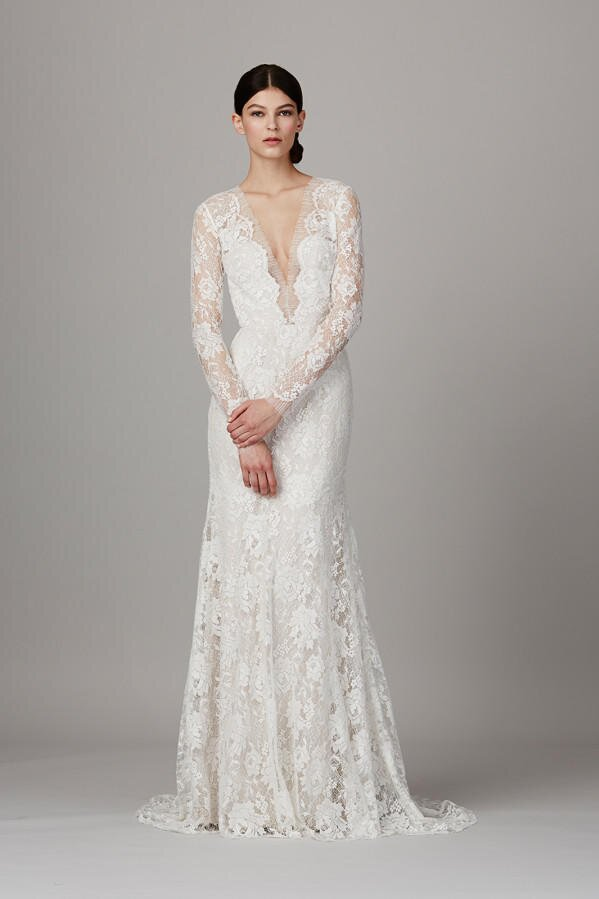 b8244d8d1110 Gorgeous Long Sleeve Wedding Dresses for Winter Brides: Lela Rose 'The  Canyon' Gown