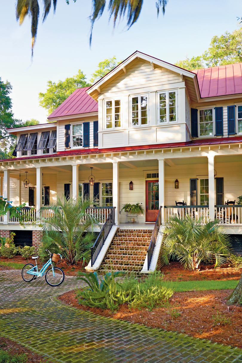 Vintage Lowcountry House Plan Exterior