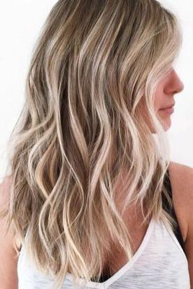 Champagne Blonde with Platinum Highlights