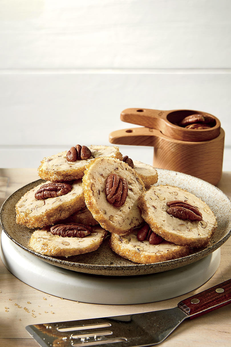 Butter-Pecan Shortbread Cookies
