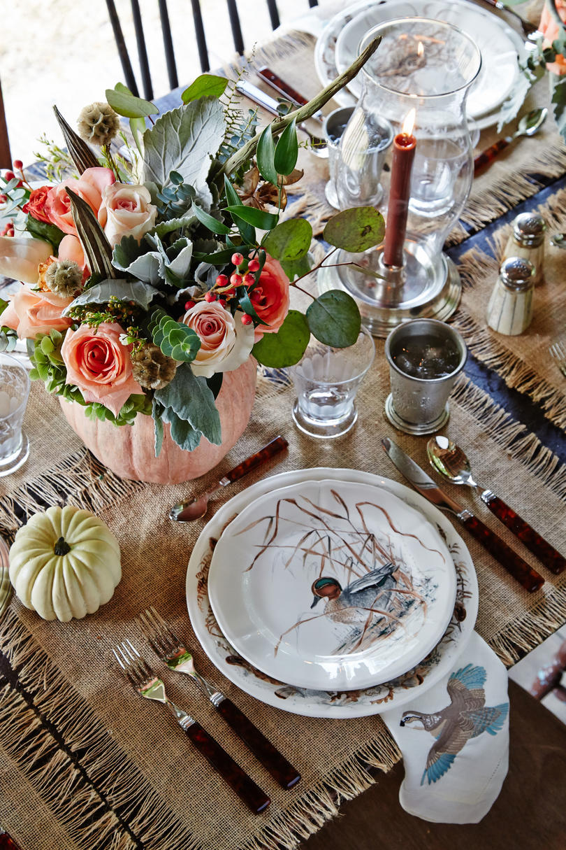 Poston Thanksgiving Farm Table