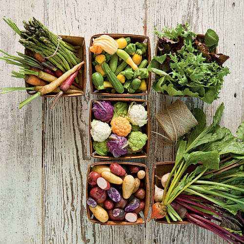 Grow Your Own Baby Vegetables