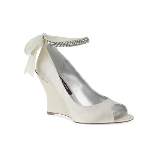d21416fc74f Have Your Own Cinderella Moment In These Ivory Wedding Shoes