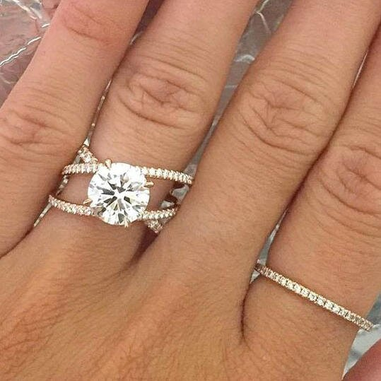 66ac22eee5 Engagement Ring Trends You'll Swoon Over in 2018