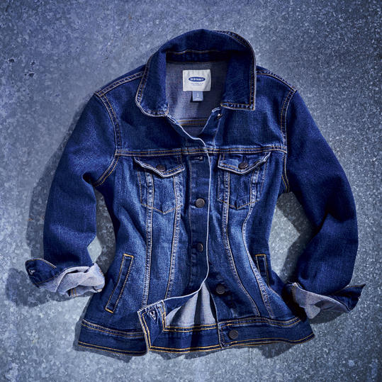 Old Navy Denim Jacket in Authentic Wash