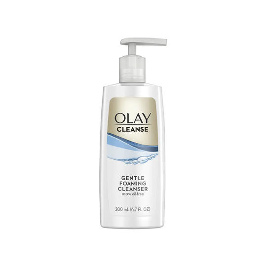 Olay Gentle Foaming Face Cleanser Fragrance-Free