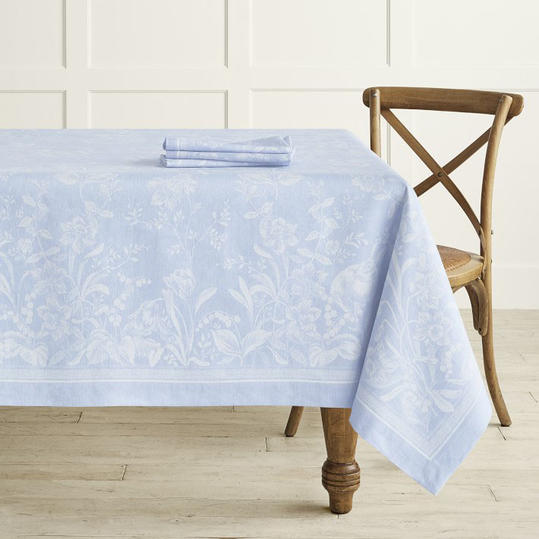 spring Jacquard tablecloth