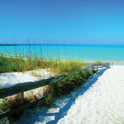 The beautiful beaches of Panama City Beach