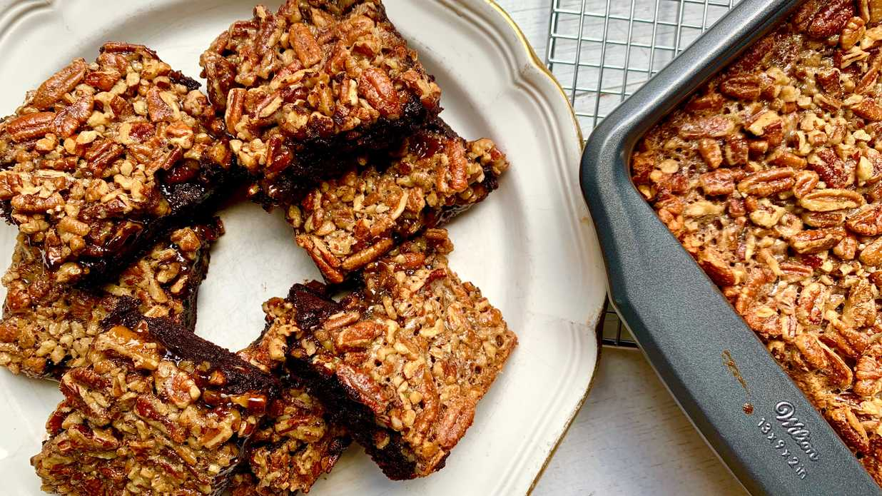 Pecan Pie Brownies Recipe