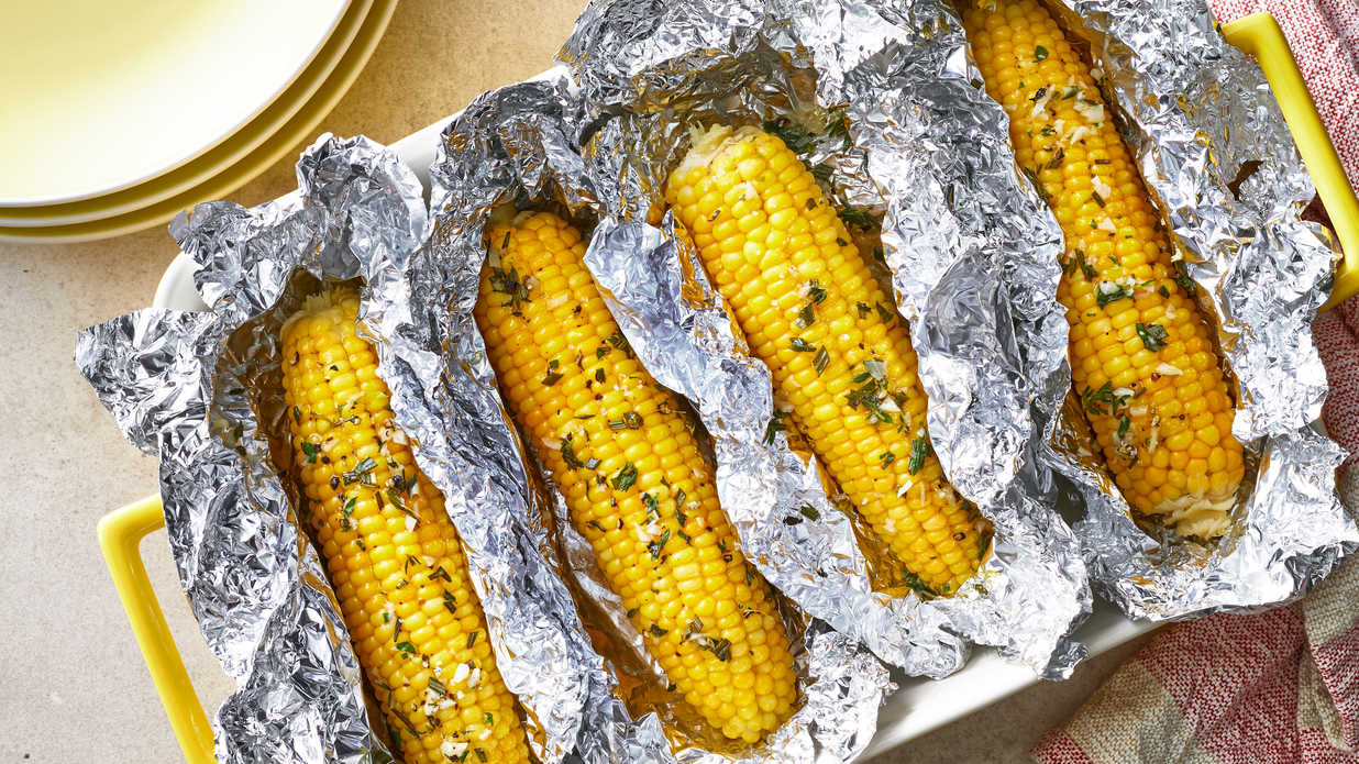 Oven-Roasted Corn on the Cob Recipe