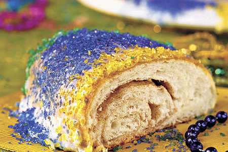 Mardi Gras King Cake Recipes