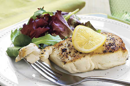 Fresh Fish and Lemon