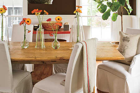 Casual, Contempoary Dining Rooms