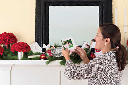 Easy Christmas Mantels: Make it Personal