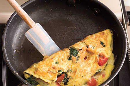How to Make Omelets Recipes: Step 3: Fold and Serve