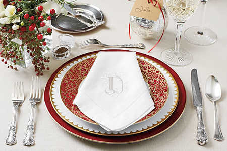 Distinctive Place Setting
