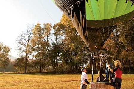 Arkansas Hot Air Balloon Ride
