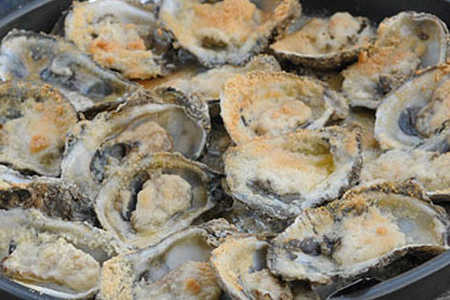 Indian Pass Raw Bar's Oysters