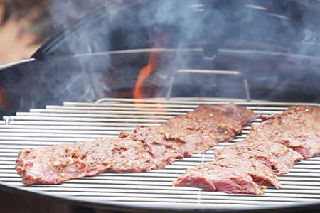 Grill with Indirect Heat