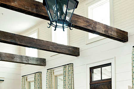 Balancing Rustic and Refined Idea House Tip