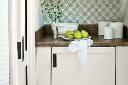Save Space with Pocket Doors