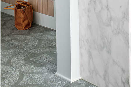 Add Style with Floor Tile