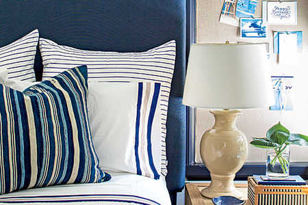 Palmett Bluff Decorating with Coastal Colors