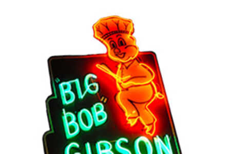 Big Bob Gibson's Bar-B-Q Logo