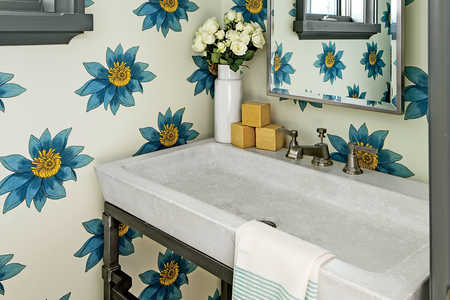 Side Rooms: The Powder Room