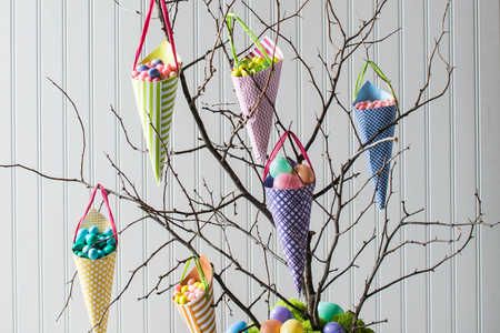 Easter Candy Tree Steps 5 and 6