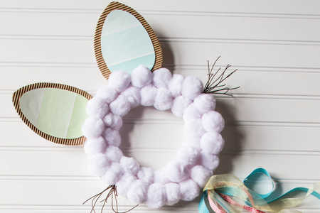 Easter Bunny Photo Prop Steps 4-6