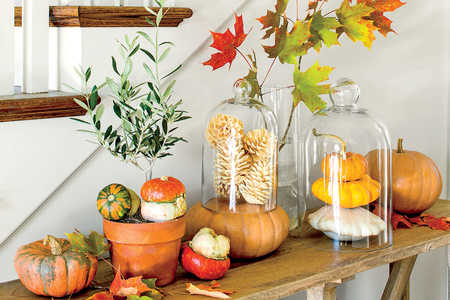 Fall Pumpkin Tableau
