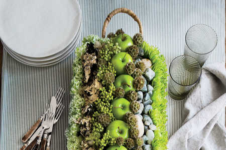 The 10-Minute Fall Apple Centerpiece