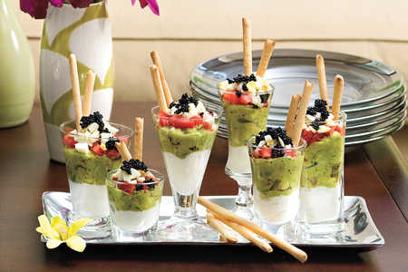 Mini Caviar Parfaits