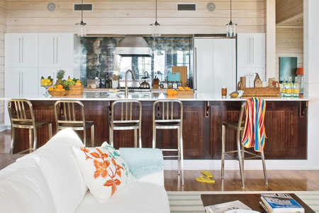 2009 Southern Living Texas Idea House Kitchen Bar